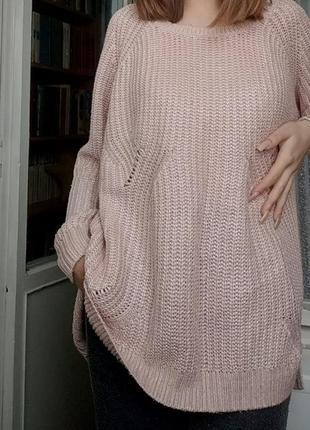 Розовенький свитер