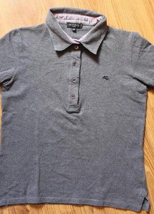 Хлопоковое поло футболка etro