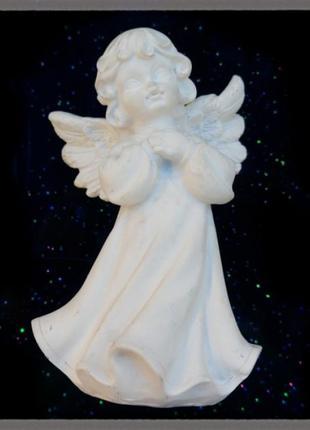 Статуэтка из полистоуна ангел со сложенными ручками