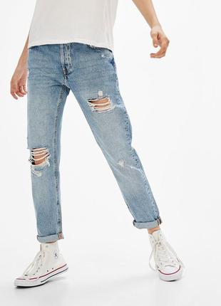 Нереально стильні джинси bershka ( slim boyfriend)