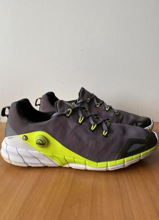 Кроссовки reebok, оригинал, спортивные, беговые, сетка, размер 44, летние, легкие,серые,