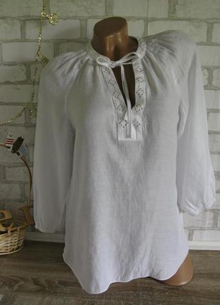 Белая блуза papaya eur 38
