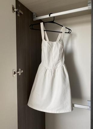 Платье деним джинсовое асос