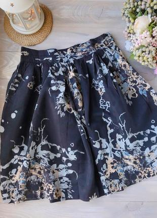 Летняя юбка солнце h&m стильна літня спідниця.