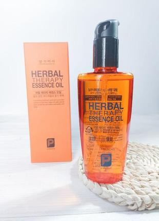 Восстанавливающее масло для волос daeng gi meo ri herbal therapy essence oil
