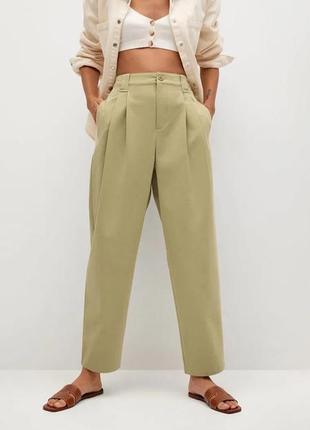 Базовые прямые брюки со стрелками