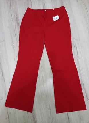 Нові жіночі штани червоного кольору