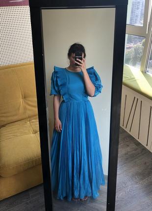 Нарядное карнавальное платье типа винтаж фонарики