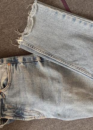 Bershka mom джинсы