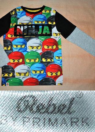 Реглан ninjago герои на 6-7лет