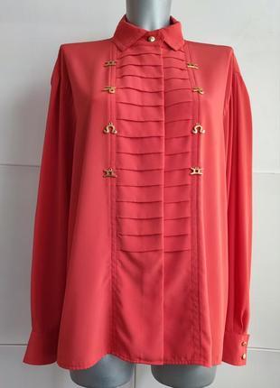 Блуза бренда премиум класса basler красного цвета.