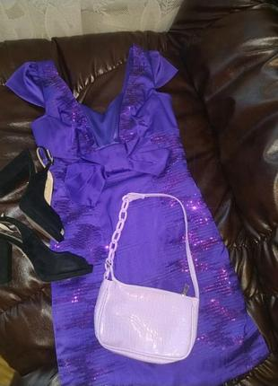 Платье 👗 фиолетового красивого цвета