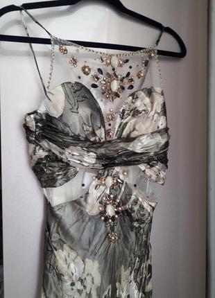 Святкова довга сукня