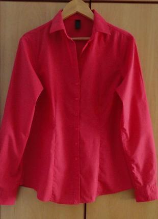 Супер брендовая  рубашка блуза блузка хлопок  италия