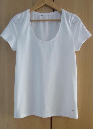 Супер  брендовая белая футболка  хлопок