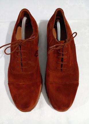 Замшевые туфли  bally винтаж