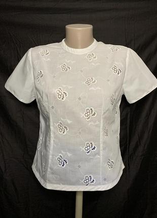 Милая блуза из прошвы, решелье