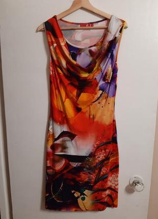 Шикарное летнее платье трикотаж вискоза