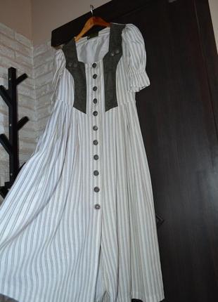 Винтажное лёгкое платья (австрия)