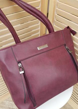 Стильная деловая женская сумочка
