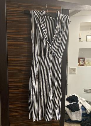 Трикотажный сарафан, платье трикотаж,