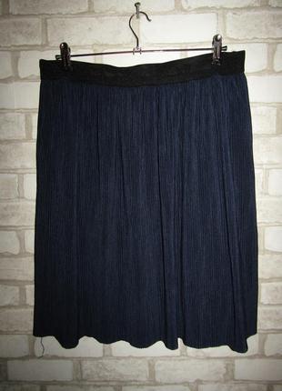 Красивая стройнящая юбка р-р хл сост новой vero moda