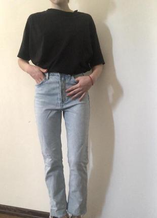 Прямые джинсы zara