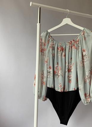Боди, боді, блуза, кофта, з відкритими плечима, с открытыми плечами