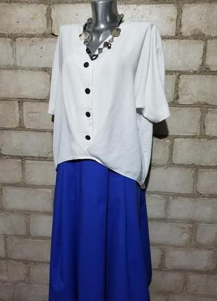 Стильная блуза оверсайз