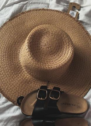 Шляпа солом'яна