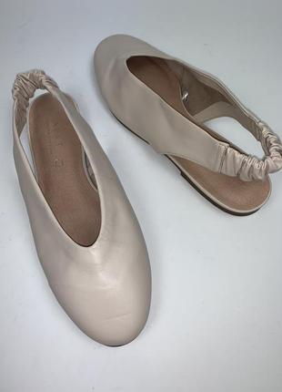 Brazil! женские кожаные фирменные туфли- босоножки next. размер 38. стелька 25.