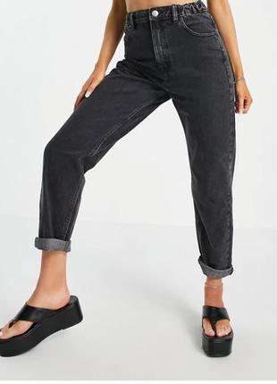 Крутые джинсы мом высокая посадка