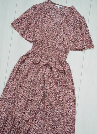 Шикарное летнее платье миди