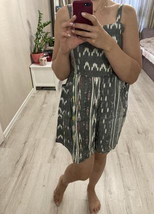Натуральное фирменное хлопковое платье