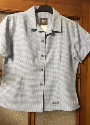 Рубашка тенниска jack wolfskin travel