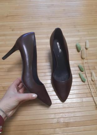Туфлі шкіряні minelli