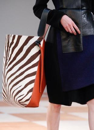 Celine большая кожаная сумка оригинал