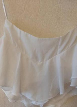 Шорти юбка з воланами, рюші