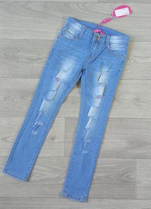 Джинсы джинси 6-7 лет, 122-128