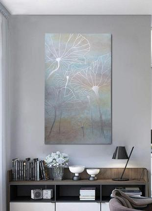 Картина в наличии серебро интерьерная картина на заказ