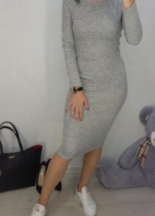 🔥теплое платье с ангорки2 фото