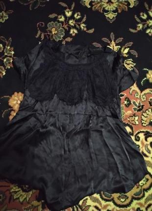 Блуза разлетайка шелк