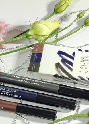 Набір водостійких олівців для очей laura geller baked kajal longwear eyeliner trio1 фото