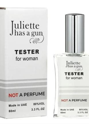 Тестер juliette has a gun not a perfume женский, 60 мл  в наличии