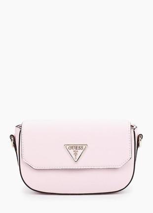 Женские сумка guess кроссбоди розовая