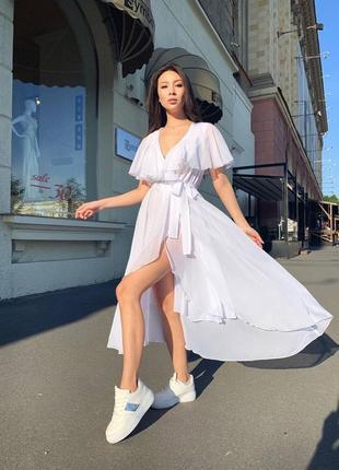 Женские длинные платья