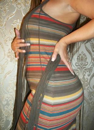 Ralph lauren длинное платье бохо 100% хлопок s m