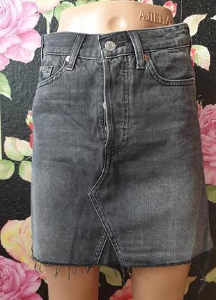 Джинсовая юбка р 40 42