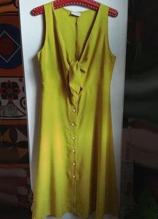 Платье цвета лайма от тм vovk