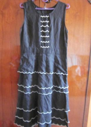 Платье marks&spencerm-l. лен новое